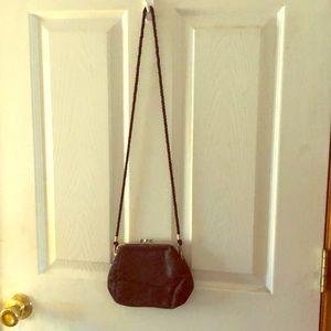 Handbag black print